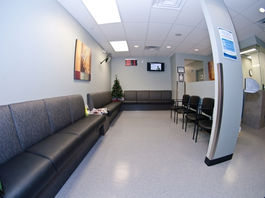 Interior Painting at BC Biomedical